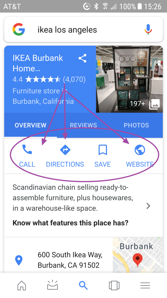 google business example ikea